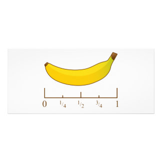 Banana For Scale Rack Card
