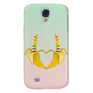 Banana Gay Pride Freedom Heart Galaxy S4 Case