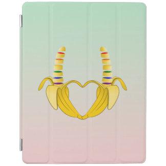 Banana Gay Pride Freedom Heart iPad Smart Cover