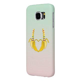 Banana Gay Pride Freedom Heart Samsung Galaxy S6 Case