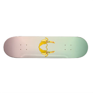 Banana Gay Pride Freedom Heart Skateboard Deck
