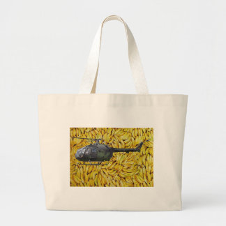 BANANA HELICOPTER CANVAS BAGS