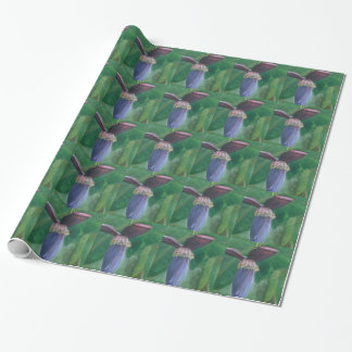 BANANA INFLORESCENCE Wrapping Paper