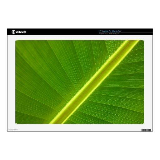 """Banana Leaf 17"""" Laptop Skin"""