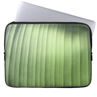 Banana Leaf Closeup Computer Sleeve