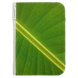 Banana Leaf Macro Kindle Cover