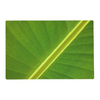 Banana Leaf Macro Placemat