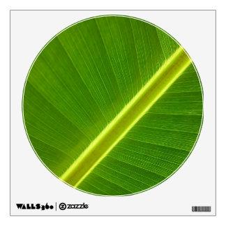 Banana Leaf Macro Wall Decal