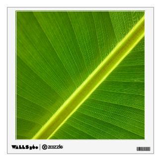 Banana Leaf Macro Wall Sticker