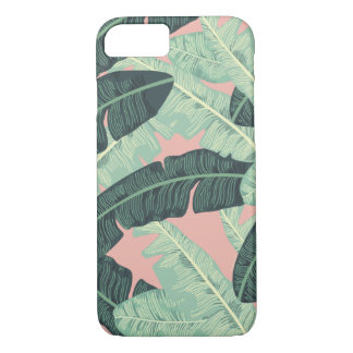 Banana leaf, Martinique Palms iPhone 7 case