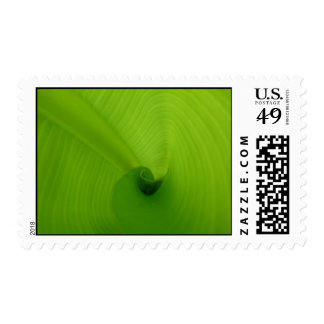 Banana Leaf Postage Stamp
