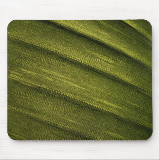 Banana leaf texture mouse pad