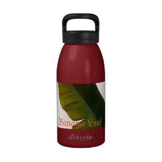 Banana Leaf Water Bottle