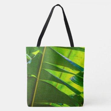 Beach Themed Banana Leaves, McBryde Garden, Hawaiian Beach Bag