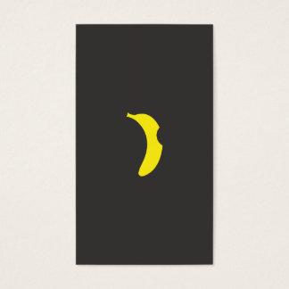 banana logo business card
