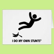 Banana My Own Stunts Card