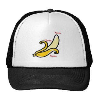banana nom nom nom xxx trucker hat