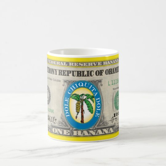 Banana Note Coffee Mug