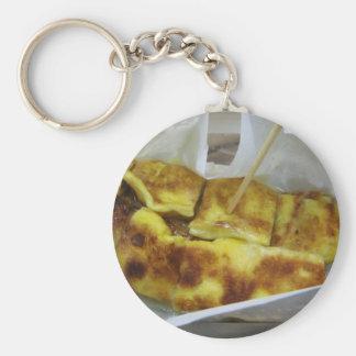 Banana Pancake [Roti Kluai Khai] Thai Street Food Basic Round Button Keychain