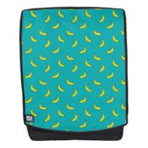 Banana Pattern Boldface Backpack