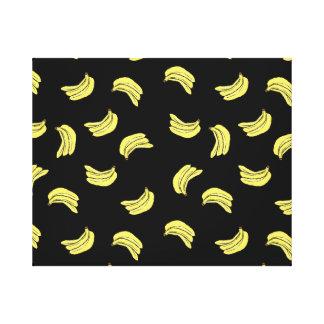 Banana Pattern Canvas Print
