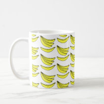 Banana Pattern. Coffee Mug