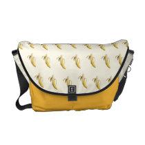Banana Pattern - Custom Messenger Bag (Light)