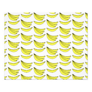 Banana Pattern. Flyer