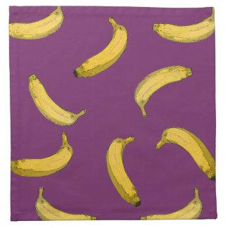 banana pattern napkin