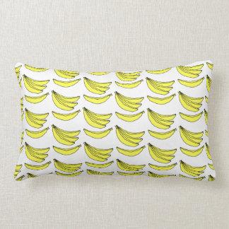Banana Pattern. Throw Pillow