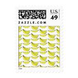 Banana Pattern. Postage