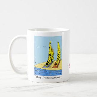 """""""Banana Peel"""" Coffee Mug"""