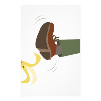 Banana Peel Slip Stationery