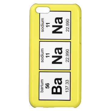 BaNaNa Periodic Table Case For iPhone 5C