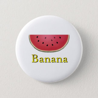 Banana Pinback Button