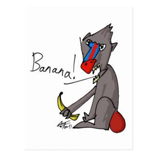 Banana! Postcard