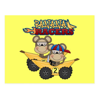 Banana Racers Tshirts and Gifts Post Cards