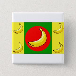 Banana Republic Flag Pinback Button