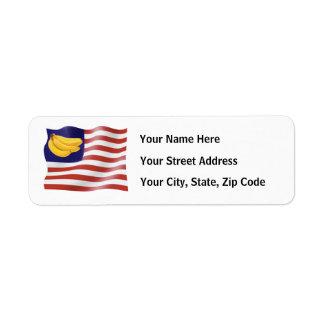 Banana Republic Return Address Label