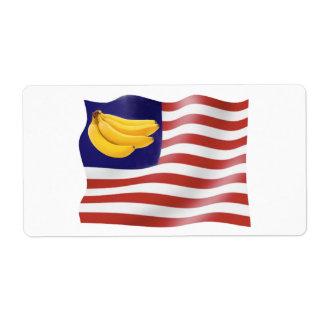 Banana Republic Personalized Shipping Label