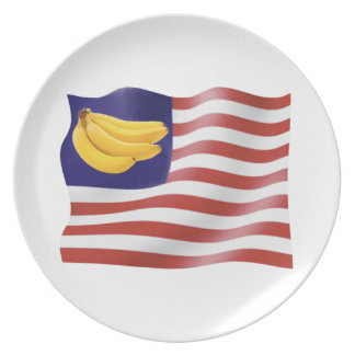 Banana Republic Party Plate