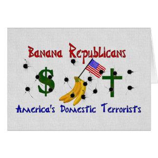 Banana Republicans Card