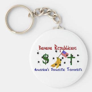 Banana Republicans Keychains
