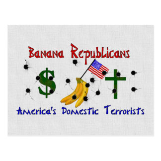 Banana Republicans Postcard