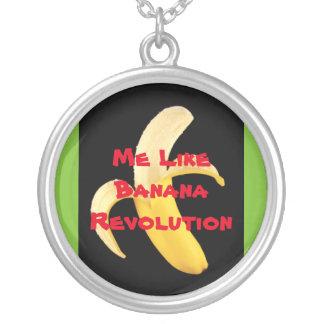 Banana Revolution necklace