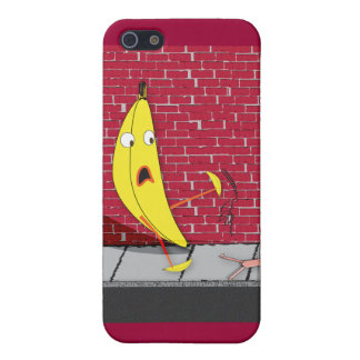 Banana Slipping on a Person IPhone Case
