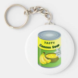Banana Soup Keychain