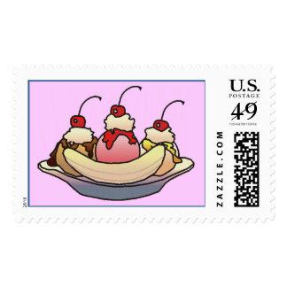 BANANA SPLIT by SHARON SHARPE Stamp