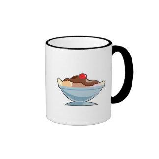 banana split coffee mug
