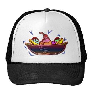 Banana Split Mesh Hats